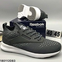 REEBOK popcorn comfort, fashion, shock absorption, sports shoes L-CSXY Light Black