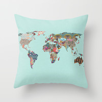 Louis Armstrong Told Us So Throw Pillow by Bianca Green