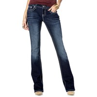 Miss Me Jeans-Snow Flake Serenade Boot Cut Jean