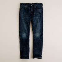 J.Crew Mens 484 Jean In Dark Worn Wash
