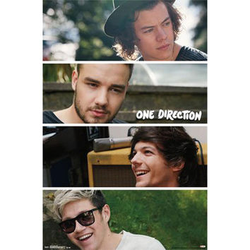 One Direction - Group Collage 22x34 Standard Wall Art Poster