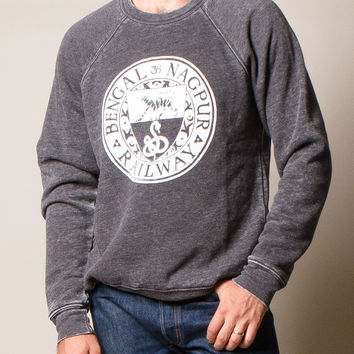 Stone Wash Bengal Rail Sweatshirt