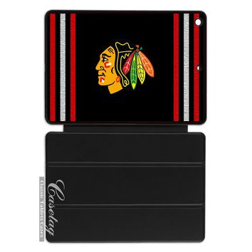 Chicago Blackhawks Ice Hockey Sport Club Cover Case For Apple iPad 2 3 4 Mini Air 1 Pro 9.7 10.5 12.9 New 2017 a1822