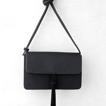 Venice Black Crossbody Purse