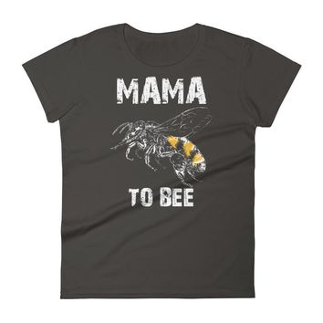 Women's Mama to bee t-shirt - first time Mama gifts