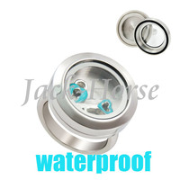 New arrival stainless steel waterproof screw locket ring! 20mm floating memory charm locket ring  jewelry