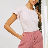 Urban Renewal Recycled Corduroy Pull-On Short | Urban Outfitters