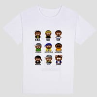 WU TANG CLAN Cartoon T Shirt
