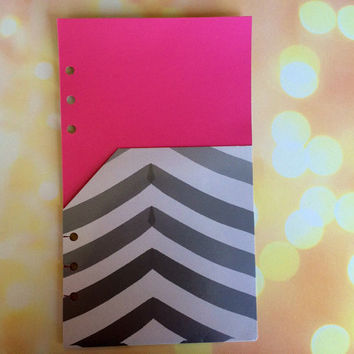Pocket Folder for A5 Planners, Kikki K Large Pocket Folder, A5 Filofax Folder