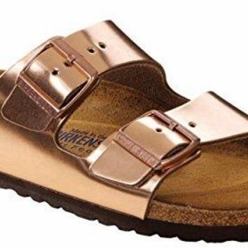 BIRKENSTOCK Arizona BS Women | Metallic Copper (0752721) sale sandals mayari arizon