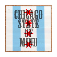 DarkIslandCity Chicago State Of Mind Framed Wall Art
