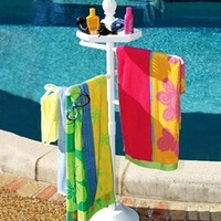 USA Pool & Toy Pool N Spa Towel Valet at SwimOutlet.com