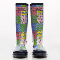 Womens Patchwork Whalie
