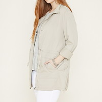 Plus Size Utility Jacket