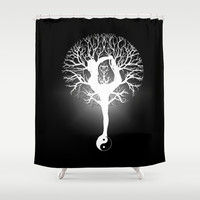 Unity and Balance Tree of Life Shower Curtain by Amelia  Carrie