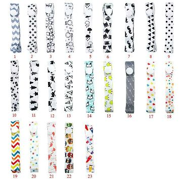 5Pcs/LotBaby Extra Long Toy Saver Strap Leash Stroller Pram Chair Doll Wrist Link Band Ribbon Stroller Lanyard