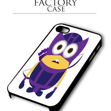 despicable me hawkeye iPhone for 4 5 5c 6 Plus Case, Samsung Galaxy for S3 S4 S5 Note 3 4 Case, iPod for 4 5 Case
