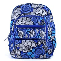 Vera Bradley Campus Backpack (Blue Bayou)