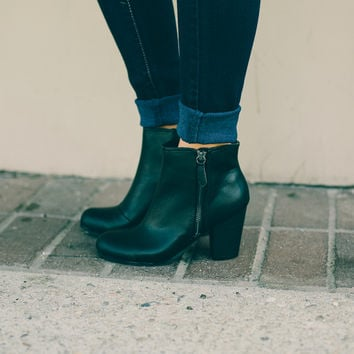 Greenwich Ankle Boot, Black