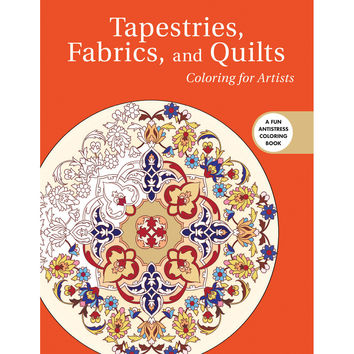 NEW! Skyhorse Publishing-Tapestries, Fabrics, & Quilts Coloring