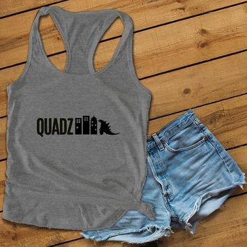Quadzilla Women's Ideal Racerback Tank