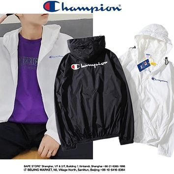 2019 Champion Fashion Sun Protective Clothing M--XXL