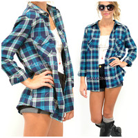 Cabin Sleepover Teal Flannel