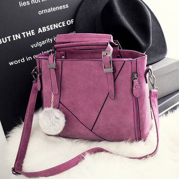 Cute Casual Large Leather Chic Stylish Crossbody Handbag Womens Shoulder Bag