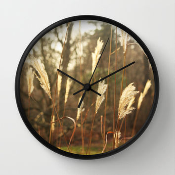 country Wall Clock by Kayleigh Rappaport