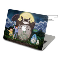 Totoro Decal for Macbook Pro, Air or Ipad Stickers Macbook Decals Apple Decal for Macbook Pro / Macbook Air JQ-002