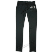 Abercrombie & Fitch Sweatpants Skinny Fit Joggers Black