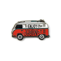 Enjoy The Journey Lapel Pin