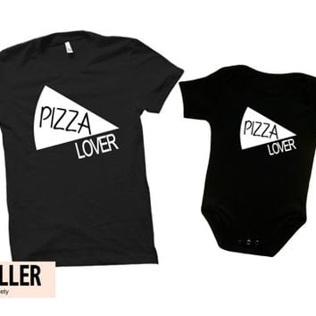 Pizza shirt, father and son matching shirts, father son shirts, father baby shirt, dad to be shirt, dad gift, pizza lover shirt
