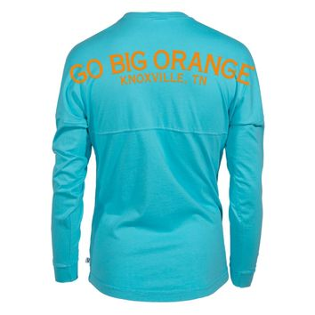 Official NCAA University of Tennessee Volunteers, Knoxville Vols UT UTK Women's Long Sleeve Spirit Wear Jersey T-Shirt