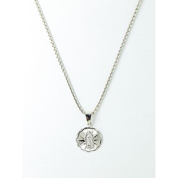 Vanessa Mooney x Silver Lady Charm Necklace