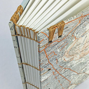 Edinburgh Travel Journal, Map Notebook, Travel Notebook