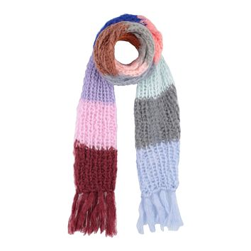 Mohair Striped Scarf
