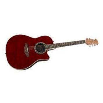 Applause AE128 Super Shallow Waterfall Bubinga Acoustic-Electric Guitar | GuitarCenter