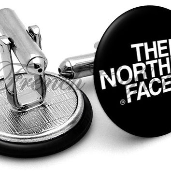 North Face Logo Cufflinks
