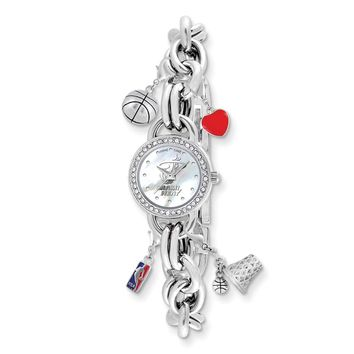 Ladies NBA Miami Heat Charm Watch