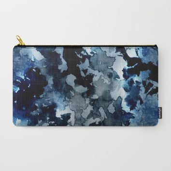 Shadows - Blue Dream Carry-All Pouch by Adaralbion