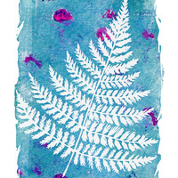 Fern Art Print by Messy Bed Studio