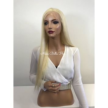 Blonde Full Lace Wig - 20 inches