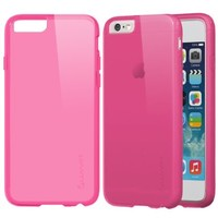 iPhone 6 Case - LUVVITT FROST iPhone Air Case / 4.7 inch Screen | Soft Slim Transparent TPU Case / Cover (Does NOT fit iPhone 5 5S 5C 4 4s or iPhone 6L 5.5 inch screen) - Transparent Pink:Amazon:Cell Phones & Accessories