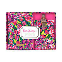 Lilly Pulitzer Luggage Tag and Passport Holder-Wild Confetti