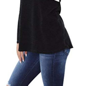 Long Sleeve Color Block Elbow Patch Top