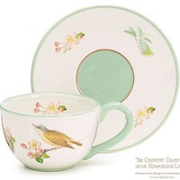 Tea Cup and Saucer Bird of Olton