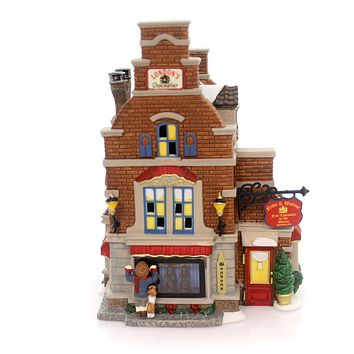 Department 56 House Dickens' Village Christmas Sweet Village Lighted Building