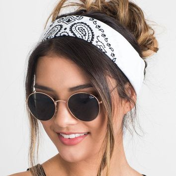 Bandana Scarf Square Rock Cool Multi Headbands