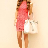 Simple As That Dress: Coral